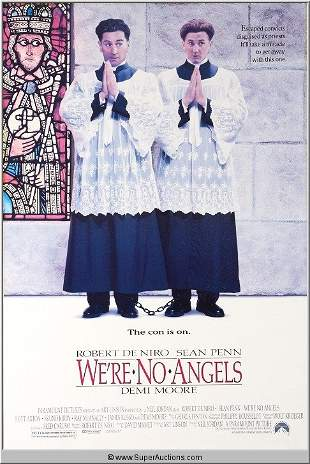 """""""We're No Angles"""" Movie Poster"""