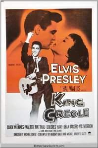 """368: Elvis Presley in """"King Creole"""" Movie Poster"""