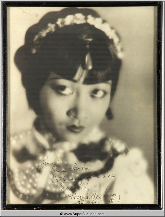 5: Autographed Photograph of  Anna May Wong