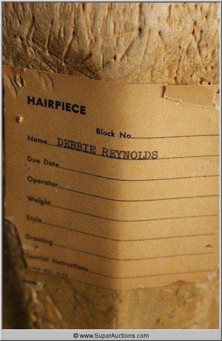 103: Debbie Reynolds Wig Block {Max Factor Collection} - 3