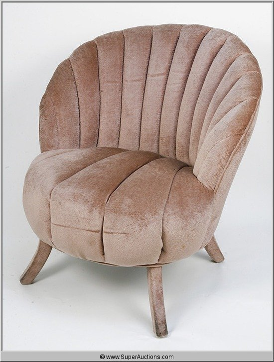 193: Salon Chairs Scalloped Shaped {Max Factor Collecti
