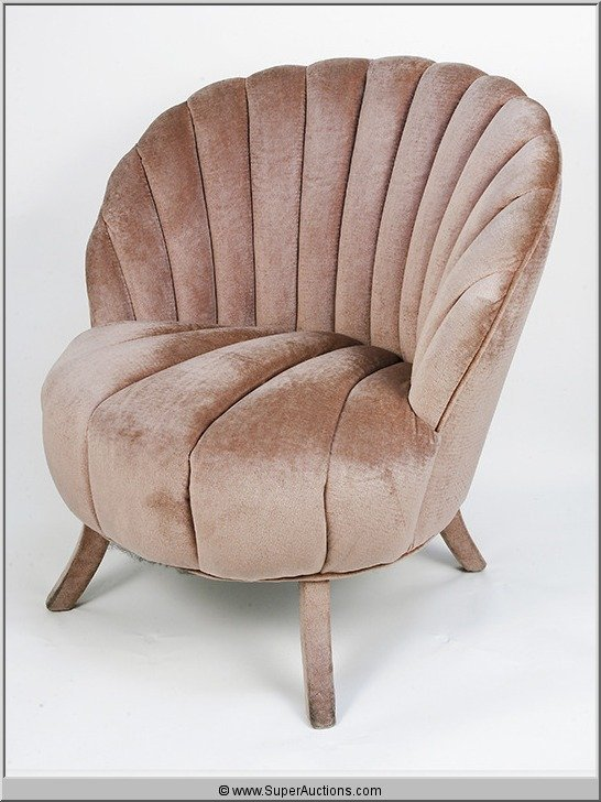 193: Salon Chairs Scalloped Shaped {Max Factor Collecti - 4