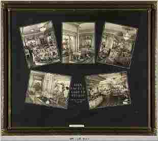 Max Factor Salon Framed Pictures 1929 - 1935