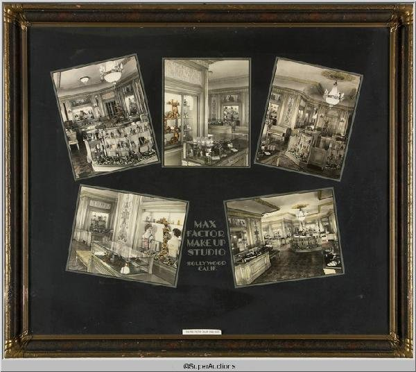 2: Max Factor Salon Framed Pictures 1929 - 1935