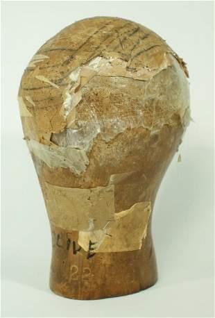 Olive Wig Head Block