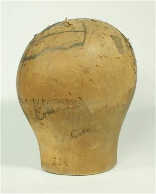 Coke Wig Head Block