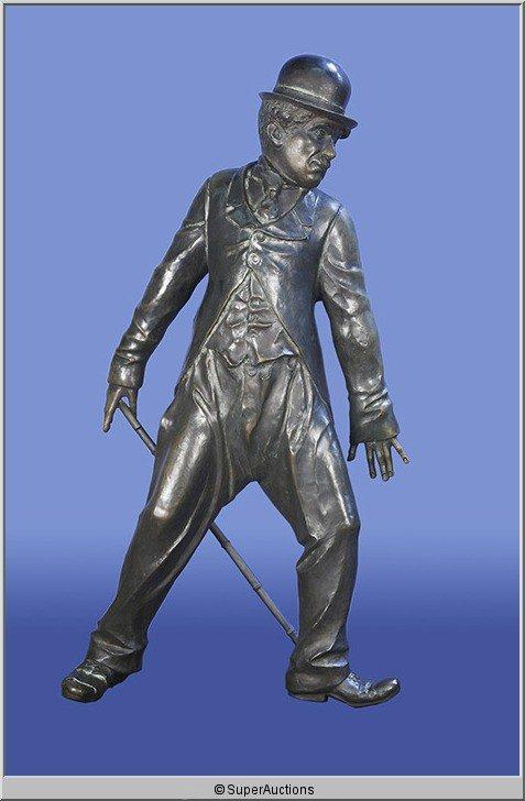 8: Bronze Statue of Charlie Chaplin