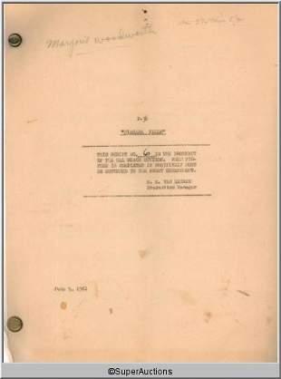 Niagara Falls Movie Script