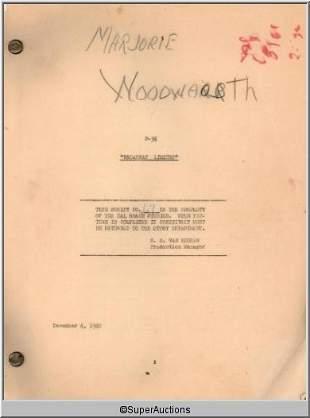 Broadway Limited Movie Script