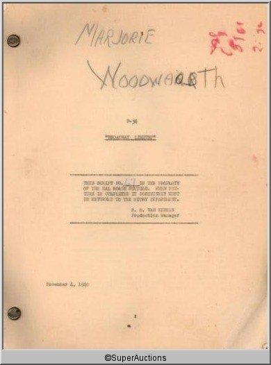 8: Broadway Limited Movie Script