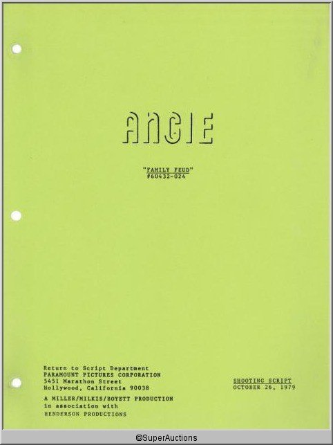 92: Angie Television Script