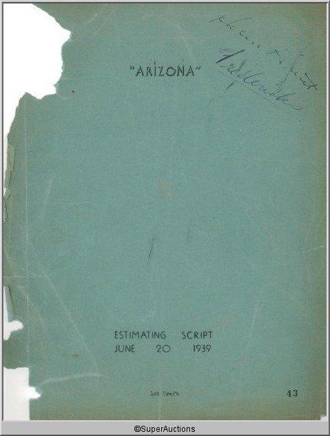 1: Arizona Movie Script
