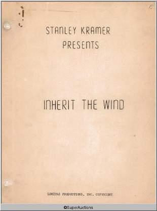 Inherit The Wind Movie Script