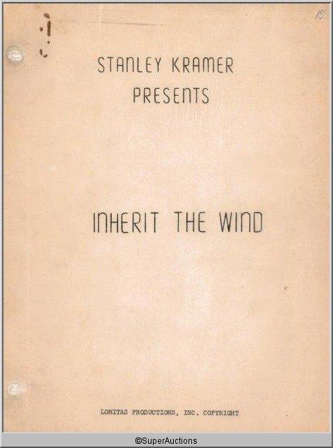 2: Inherit The Wind Movie Script