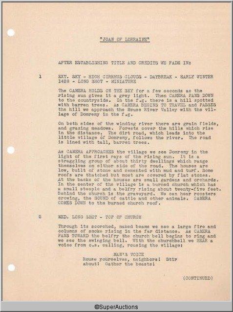 3: Joan of Lorraine {Joan of Arc} Movie Script - 3