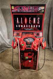 ALIENS ARMAGEDDON DELUXE ARCADE VIDEO GAME