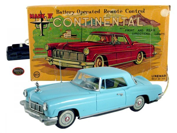 "1: Rare 1956 Linemar Tin B/O ""Mark II Continental"" in B"