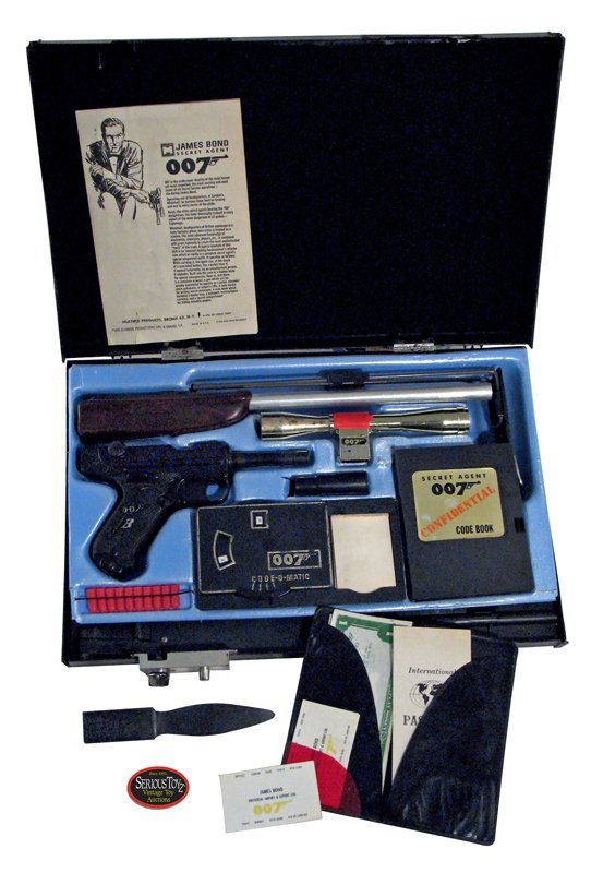 "18: Scarce 1965 ""007 James Bond Secret Attache Case"""