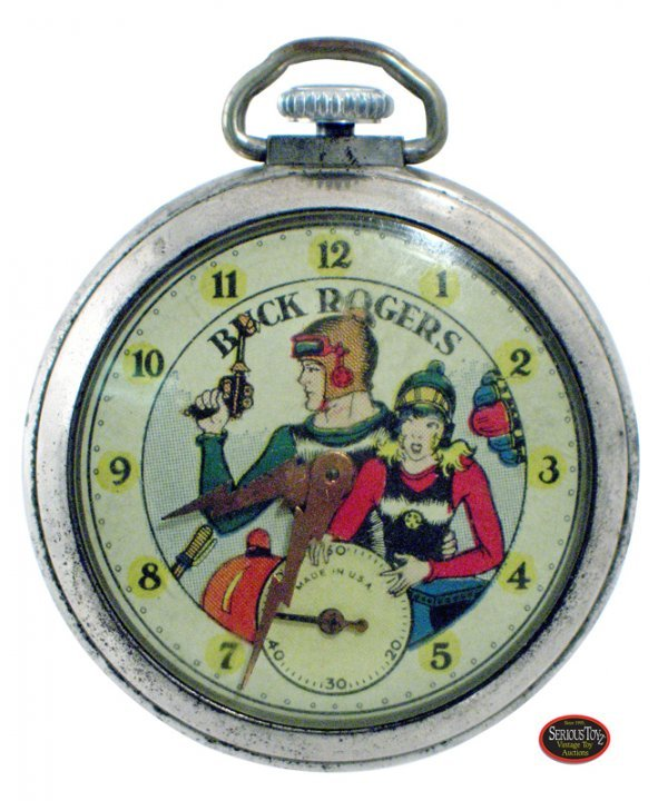 "22: 1935 Ingraham ""Buck Rogers"" Pocket Watch"