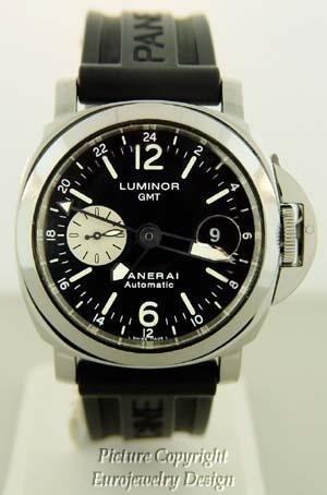 009: Panerai Luminor GMT PAM 000 88 Men's Watch