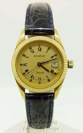 012: Geneve 18kt Yellow Gold  Watch