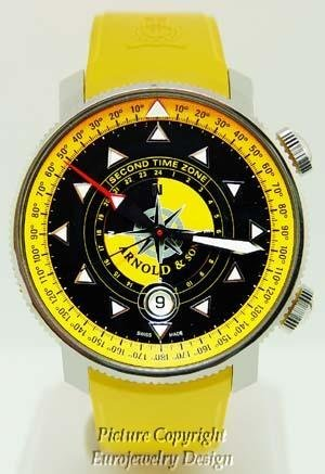 014: Arnold & Son Navigators Scout Automatic Watch