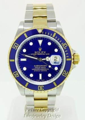 017: Rolex Oyster Perpetual Submariner Date Watch
