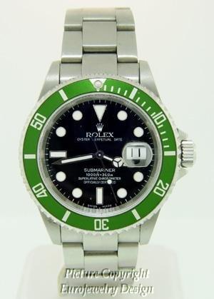 018: Rolex Submariner 50th Anniversary St. Steel
