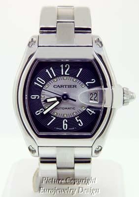 024: Cartier Roadster Stainless Steel Automatic