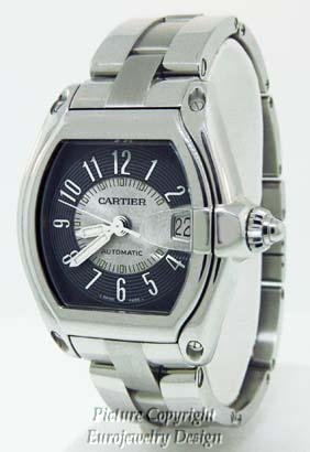 024: Cartier Roadster Stainless Steel Automatic  - 3