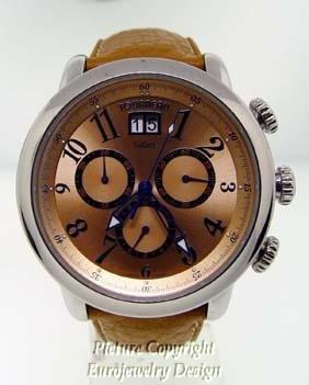003: Tourneau Safari St. Steel Watch
