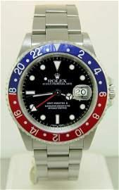 "204: Rolex GMT Master II 16710 ""Blue & Red Pepsi"""