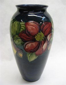 Marked Moorcroft Anemone Art Vase