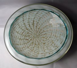 Fratelli Toso Cased Geode Bowl