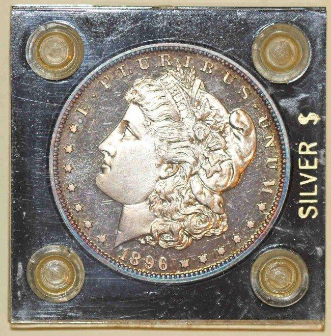 228: Proof 1896 Morgan  $1