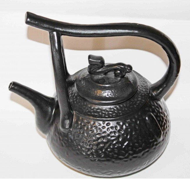 23: Ceramic Korean Teapot