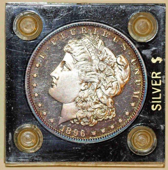 17: Proof 1896 Morgan Dollar
