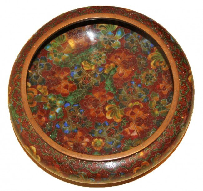 14: Fine Chinese Cloisonne Bowl