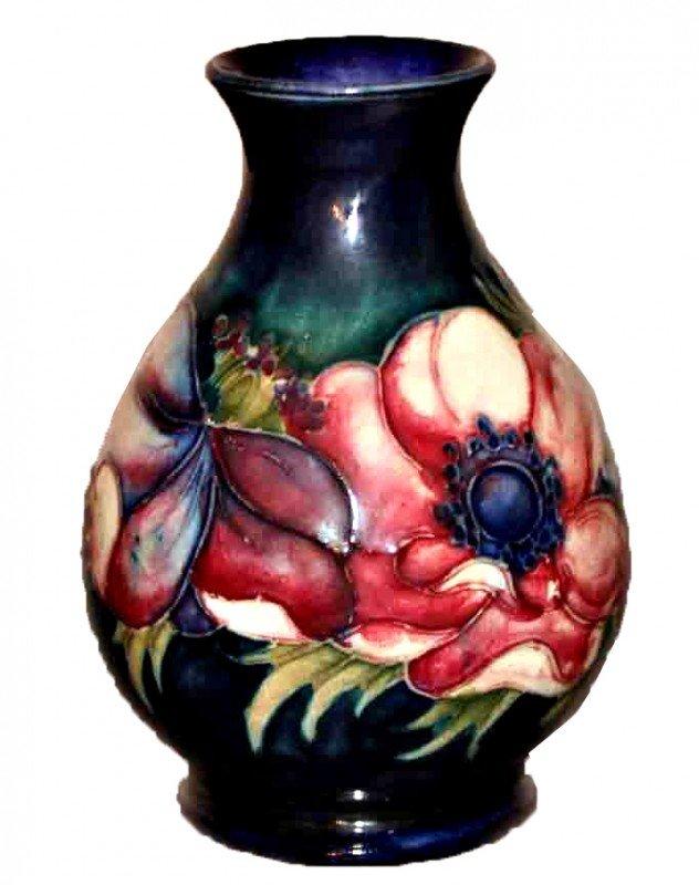 7: Moorcroft Anemone Cabinet Vase