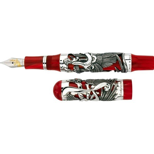 80: Montegrappa Eternal Bird Limited Edition Fountain P