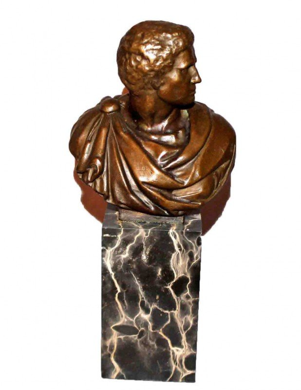 9: Bronze Statute of Nero