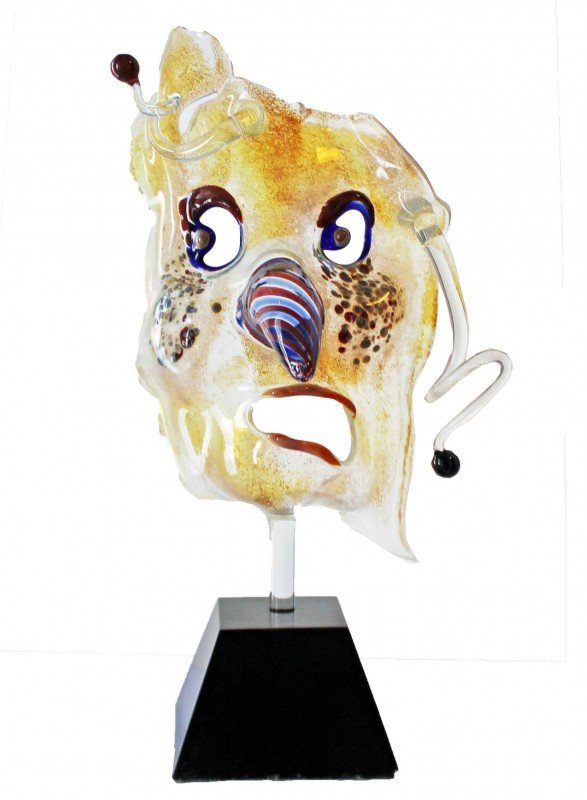 15: Rare Murano Glass Mask