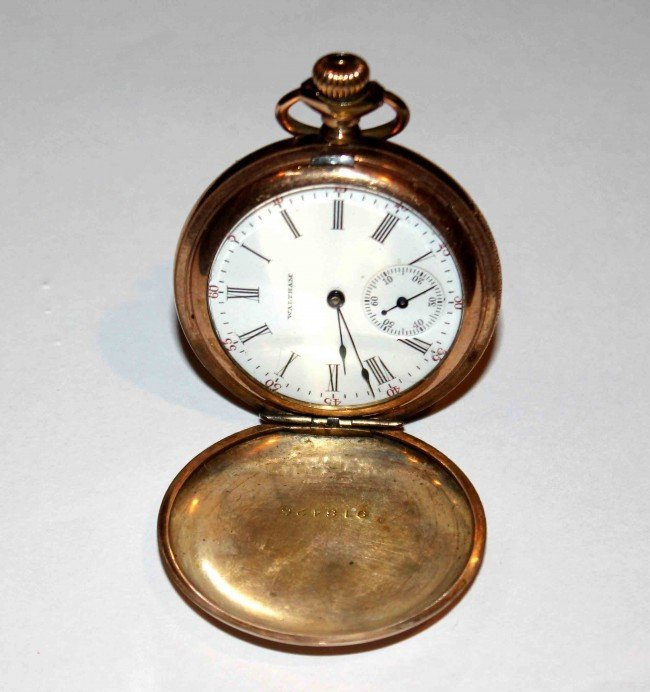 2: Gold  Pocket Watch