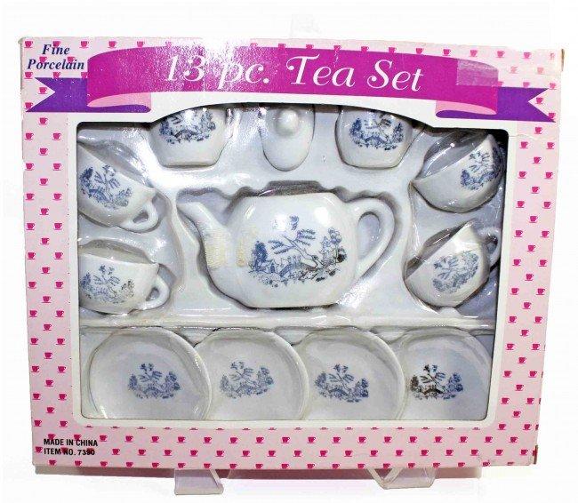 12: Porcelain Toy Tea Set