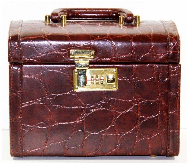 19: Faux Leather Makeup Case