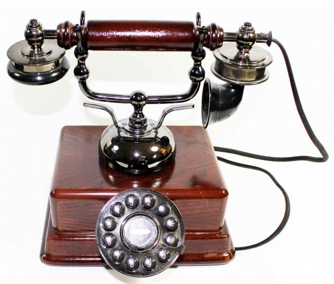 20: Telephone--Rotary Dial