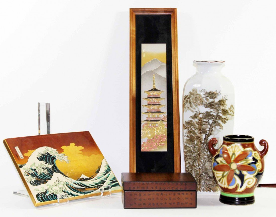 3: Lot of Miscellaneous Oriental Items
