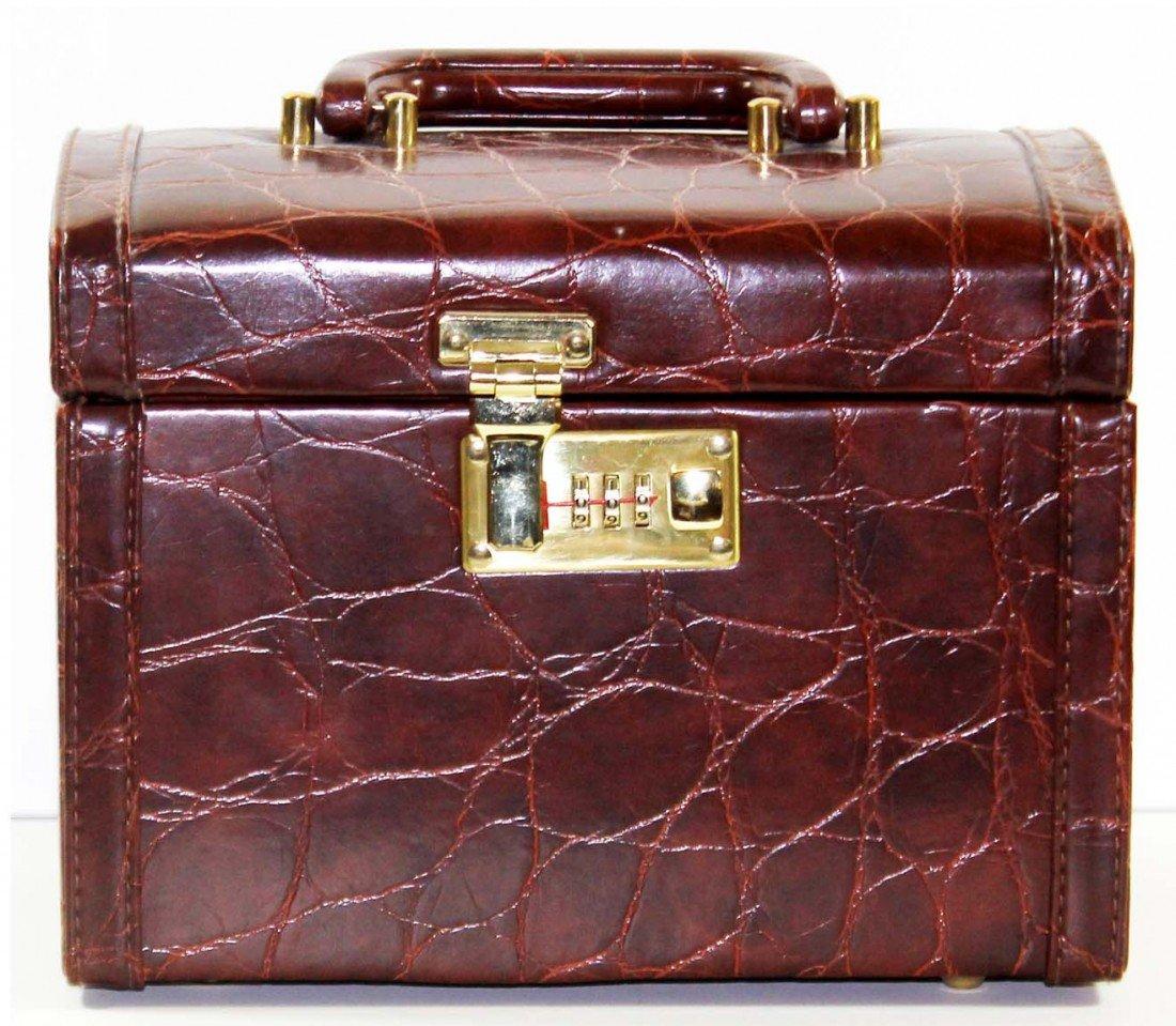 14: Faux Leather Makeup Case