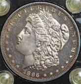 261: Proof 1896 Morgan Silver Dollar
