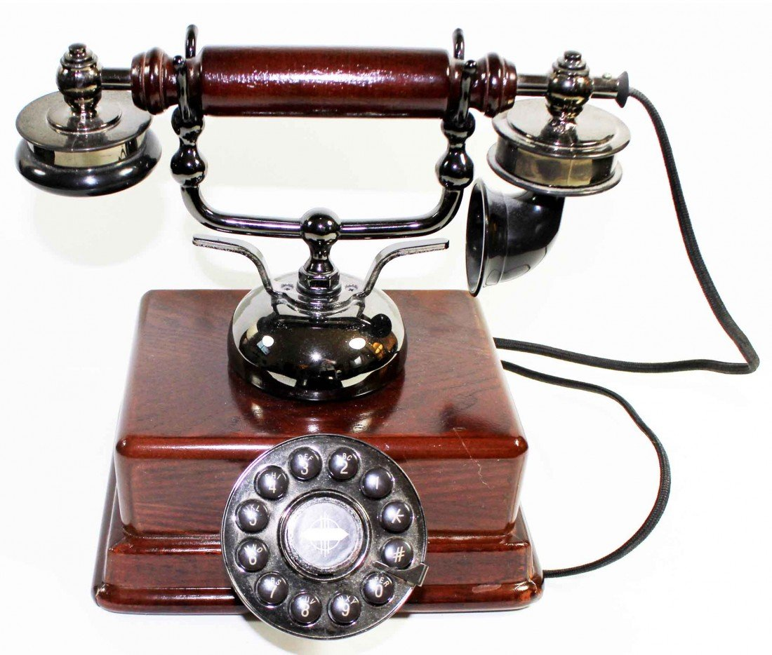 33: Telephone with Rotary Style Dial